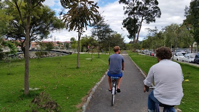 Rio Yununcay path