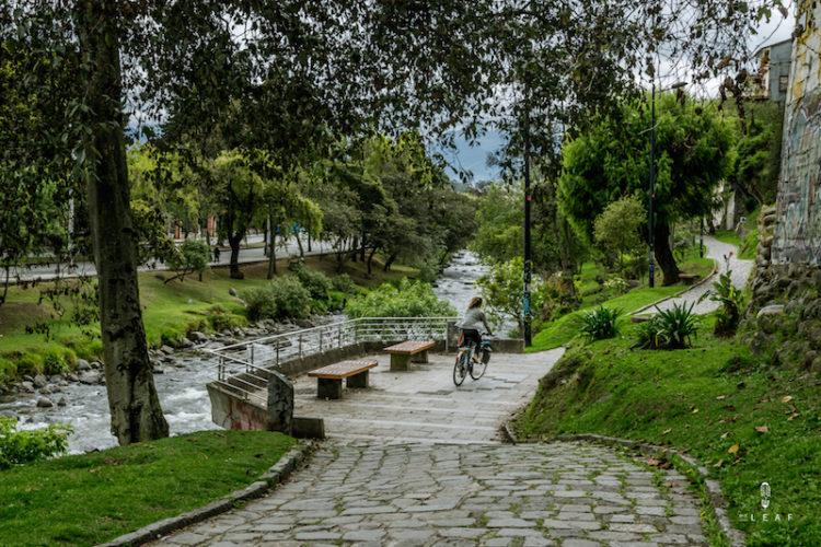 Rio Tomabamba trail